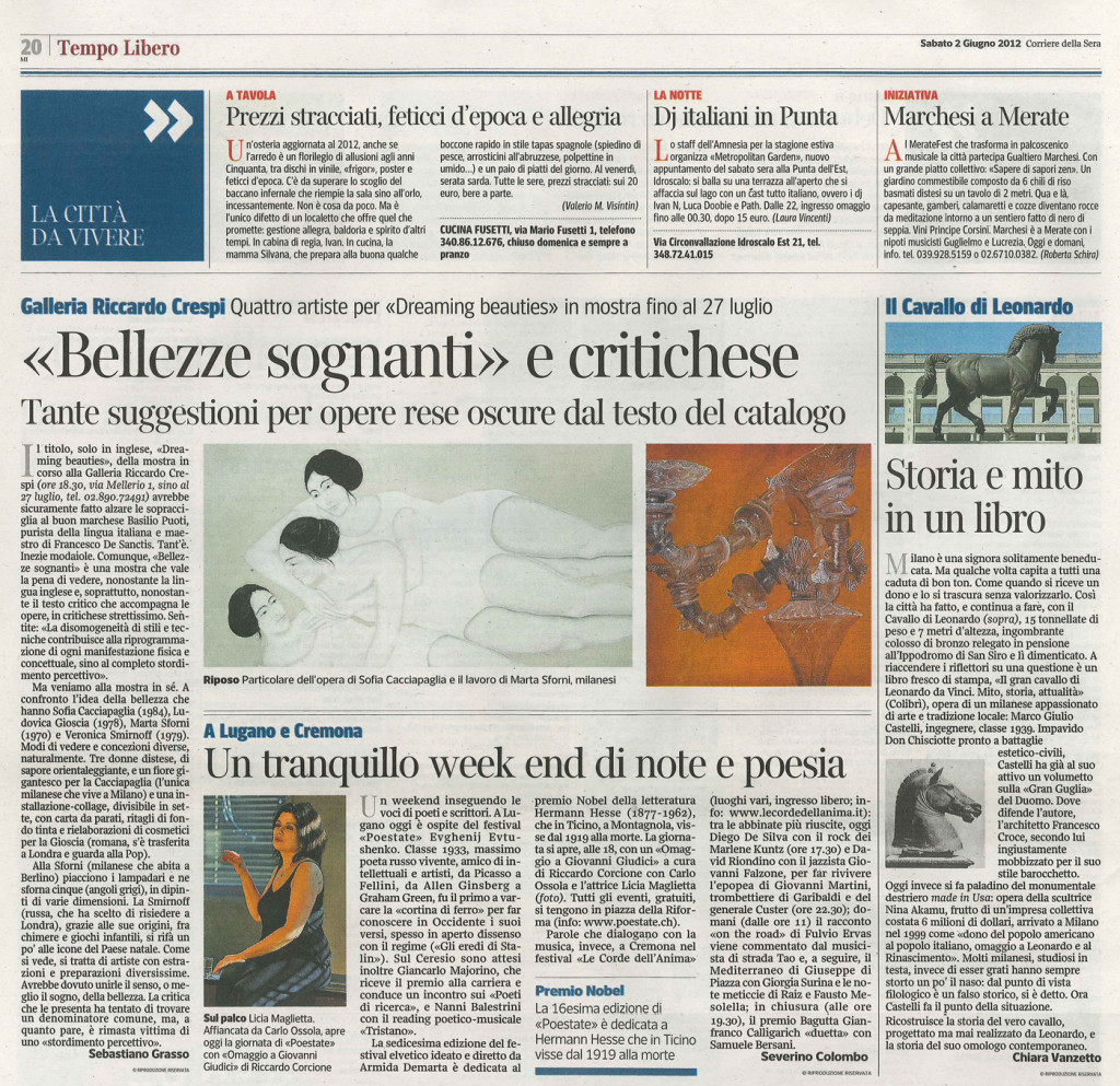 corriere_della_sera_2_giugno2012_mostraRiccardo Crespi
