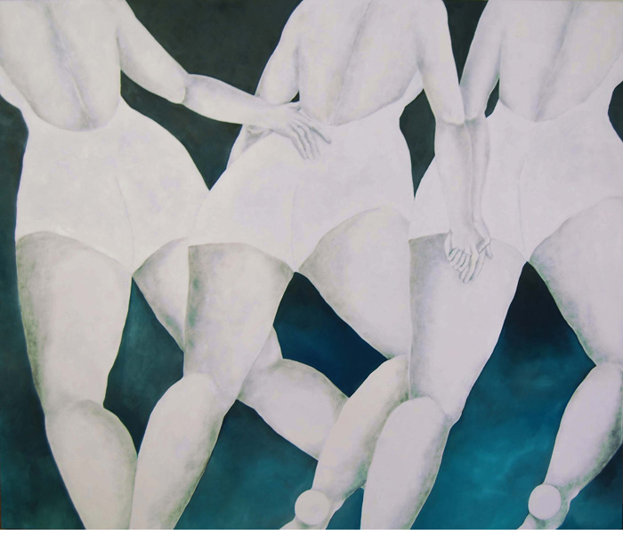 5ok. UNTITLED 2007-Oil on canvas cm 210x168